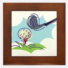 Golf24 Framed Tile