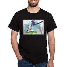 Golf24 Black T-Shirt