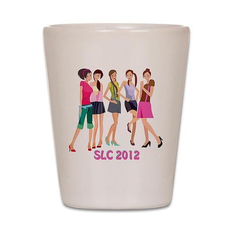 SLC girls Shot Glass