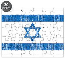 Israel Flag Puzzle