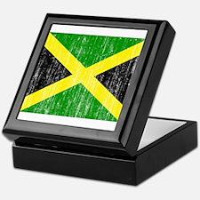 Jamaica Flag Keepsake Box