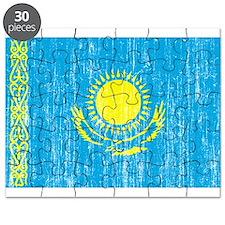 Kazakhstan Flag Puzzle