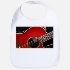 The Red Guitar Bib