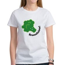 Cute Funny broccoli design Tee
