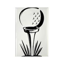 Golf29 Rectangle Magnet