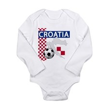 Unique Crests Long Sleeve Infant Bodysuit