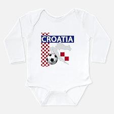 Flag football Long Sleeve Infant Bodysuit