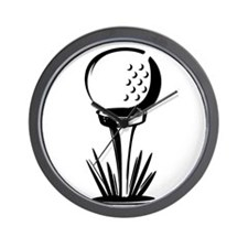 Golf29 Wall Clock