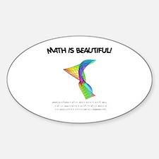 beautiful_12.jpg Sticker (Oval)
