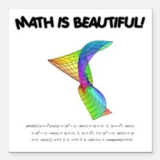 "beautiful_12.jpg Square Car Magnet 3"" x 3"""