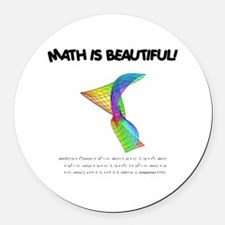 beautiful_12.jpg Round Car Magnet