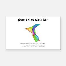 beautiful_12.jpg Rectangle Car Magnet