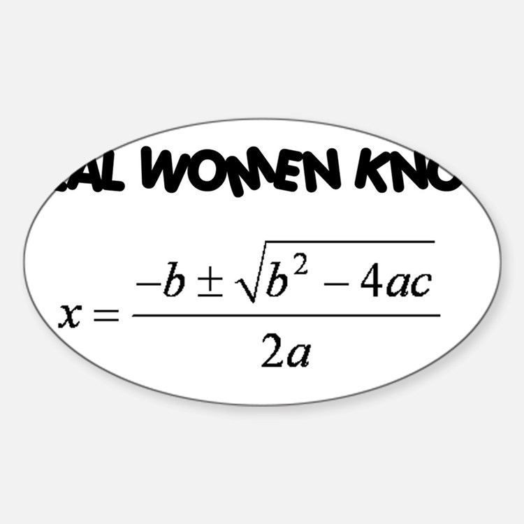 Real Women Decal