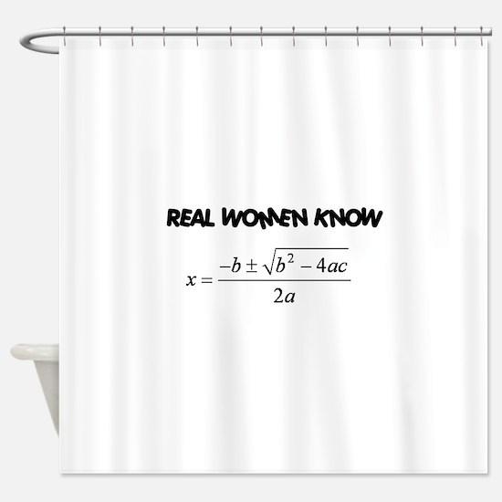 Real Women Shower Curtain