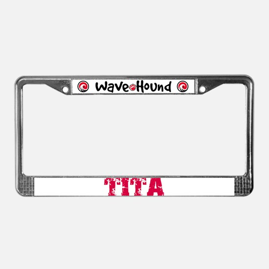 Tita License Plate Frame