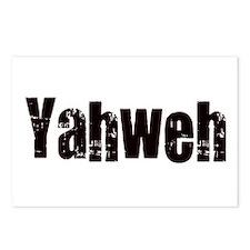 Yahweh Postcards (Package of 8)