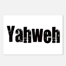 Yahweh Postcards (Package of 8)