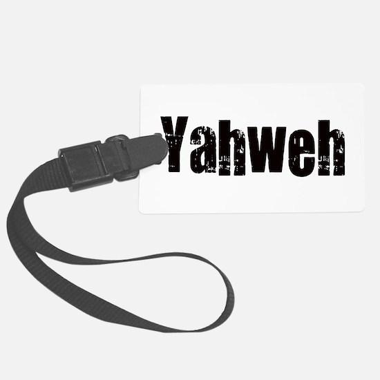 Yahweh Luggage Tag