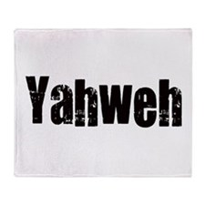 Yahweh Throw Blanket