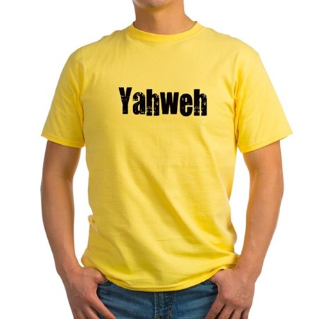 Yahweh Yellow T-Shirt