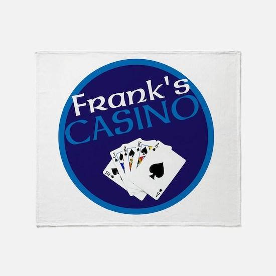 Personalized Casino Throw Blanket
