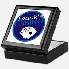 Personalized Casino Keepsake Box