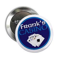 """Personalized Casino 2.25"""" Button"""