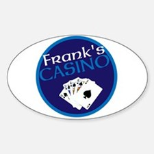 Personalized Casino Decal
