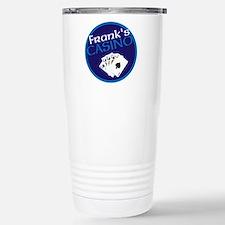 Personalized Casino Stainless Steel Travel Mug
