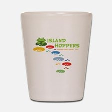 Island Hoppers Shot Glass
