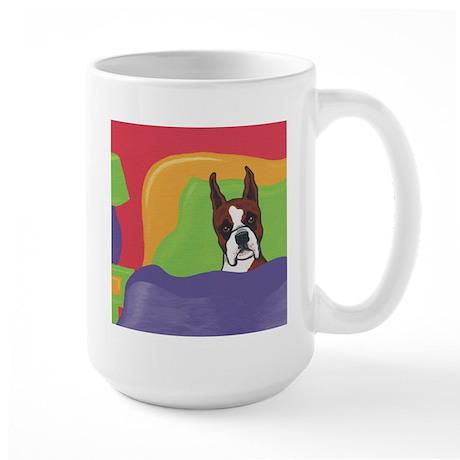 Boxer Items Custom Shop Large Mug
