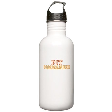 Pit Commander Stainless Water Bottle 1.0L
