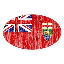 Manitoba Flag Decal