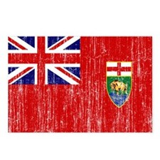 Manitoba Flag Postcards (Package of 8)
