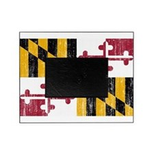 Maryland Flag Picture Frame