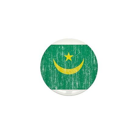 Mauritania Flag Mini Button