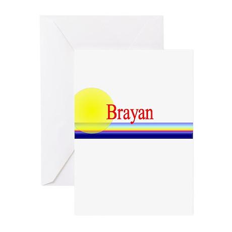 Brayan Greeting Cards (Pk of 10)