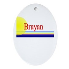 Brayan Oval Ornament