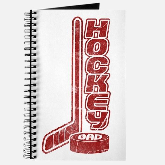 Hockey Dad (stick puck) Journal