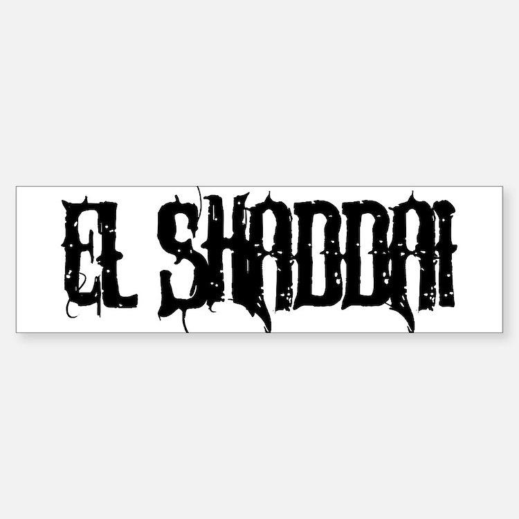 El Shaddai Sticker (Bumper)