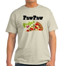 PawPaw Fueled By Pizza T-Shirt