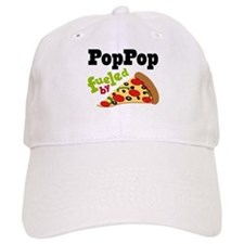 PopPop Fueled By Pizza Baseball Cap