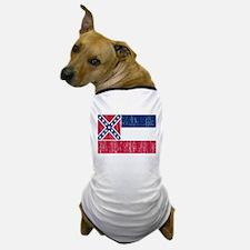 Mississippi Flag Dog T-Shirt