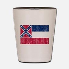 Mississippi Flag Shot Glass