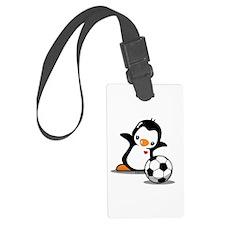 I Like Soccer Luggage Tag