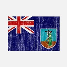 Montserrat Flag Rectangle Magnet