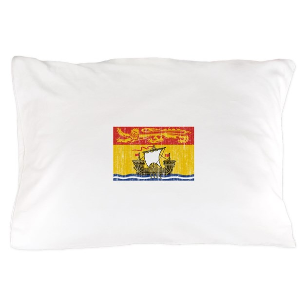 New Brunswick Flag Pillow Case By AgedFlags