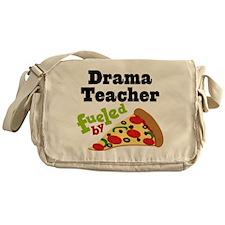 Drama Teacher Funny Pizza Messenger Bag