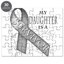 My Daughter is a Survivor (grey).png Puzzle