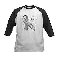 My Dad is a Survivor (grey).png Tee